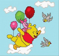 Like a bird (teddy-bear, piglet,  for children,  fairy tale, game, toy-baloons, joy, smile, animal)