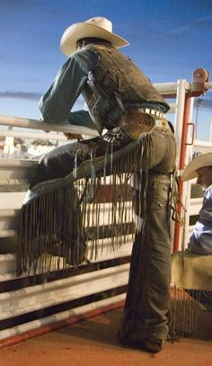 Its boots and chaps, its cowboy hats, its spurs and a lot of gold.... A woman wants her cowboy like he wants his rodeoooo!!!