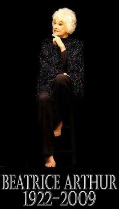 Beatrice Arthur | Beatrice Arthur, the tall, husky-voiced actress whose impeccable ...