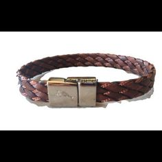 "Selling this ""Men's Tommy Bahama Brown Braided Leather Bracelet"" in my Poshmark closet! My username is: scoulon. #shopmycloset #poshmark #fashion #shopping #style #forsale #Tommy Bahama #Jewelry"