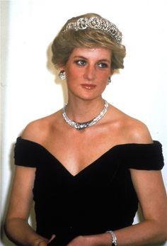 Lady Di durante un acto cuando aún era princesa de Gales
