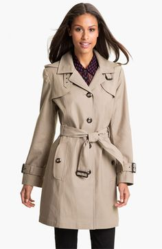 Gallery Single Breasted Trench Coat available at #Nordstrom