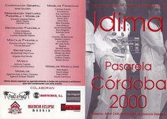 """pasarela de moda """"Córdoba 2000"""""""