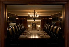 A gorgeous private dining room for our corporate clients at Harbour 60 - our most recent addition in Toronto. Fantastic dining in every respect.
