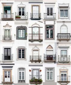 montemor-o-novo, portugal: andre goncalves' 'windows of the world' and 'doors of the world' series highlight the culture and community of a place through architectural photography. Mundo Design, Classic House Design, Design Exterior, Villa, Vintage Home Decor, Furniture Vintage, Windows And Doors, Home Accents, Home Improvement
