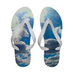 """Clouds Flip Flops"""