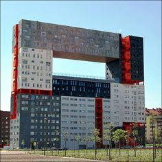 Edificio Mirador Building, Madrid, Spain - 40 Bizarre and Incredible Building Design – Part 2