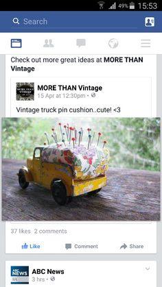 Truck pincushion :-)