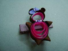 ribbon art hairclips - Google Search