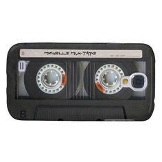 Custom Cassette Mixtape Samsung Galaxy S4 Cases