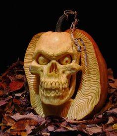 Extreme Spooky Halloween Pumpkin