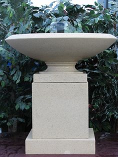 Nichols Bros. Stoneworks has been manufacturing the highest quality reconstituted stone planters for almost 20 years. Nichols Bros. Stoneworks makes superb sandstone containers and garden ornaments in both traditional and contemporary designs. The urns and ornaments are hand crafted and equally at home in commercial settings, municipal projects, malls, or adding a touch of elegance to a family home.