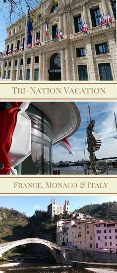 Holidaying on the French Riviera you can visit Monaco and Italy too: a tri-nation vacation.