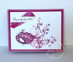 Inspired Stamping by Janey Backer: ICS Blog Hop - Beautiful Peacock, Stampin' Up!, Sale-a-bration