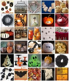 Halloween is my absolute favorite holiday, but I usually channel all my energy into making a costume versus decorating my home. That might change this year, because some of these crafty projects are just too good to ignore. (I mean, come on, look at that little pumpkin with fangs!) Whether you're having a party, or just entertaining yourself at home, these are a fun and festive way to enjoy the holiday.