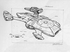 Lego Spaceship, Spaceship Design, Spaceship Concept, Cyberpunk, Starfleet Ships, Star Wars Vehicles, Star Trek Starships, Starship Enterprise, Star Trek Universe