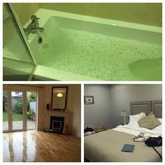 Después de un día agotador recogiendo limpiando y pintando mi merecido baño en el hotel. Mañana nos vamos!!!!!! Qué emoción! Aun ni he visto nuestra nueva casa solo en fotos. :)