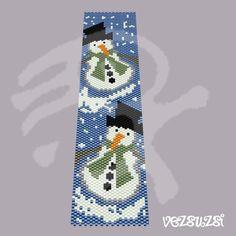 Peyote-Muster    Armband Muster für einen Tropfen Peyote Stich.  Dieses Design werden und 1,54 von 6,7 lange breit.  3,9 x 17 cm    Bitte