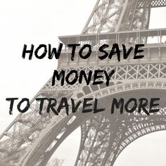 Want to know how I save money to travel? This post breaks down exactly what I do with my money each month in order to save $10,000 a year.