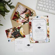 Vintage gorgeous wedding invitations