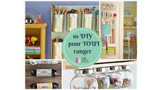 10 idées de rangements DIY pour se simplifier la vie ! http://www.deco.fr/loisirs-creatifs/photos-76093/
