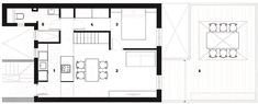 House Plans Under 50 Square Meters: 26 More Helpful Examples of Small-Scale Living,Cortesía de Eva Cotman Apartment Plans, Apartment Design, Ranch House Plans, House Floor Plans, Studio Apartments, Nook Architects, Little Houses On Wheels, Archdaily Mexico, Home Plans