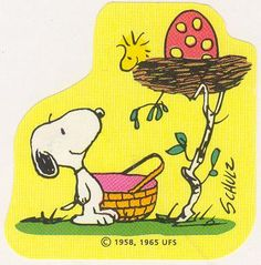 Look at Woodstock's egg!