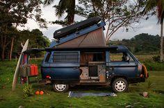 Volkswagen Our open road : la vie en VW T3 | BeCombi