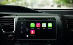 Apple is showing off a new in-car system called Carplay, which debuted this week in Geneva on Ferrari, Mercedes-Benz, and Volvo vehicles. Apple Tv, Apple Watch, Apple Maps, Steve Wozniak, Google Glass, Radios, Multimedia, Iphone Interface, User Interface