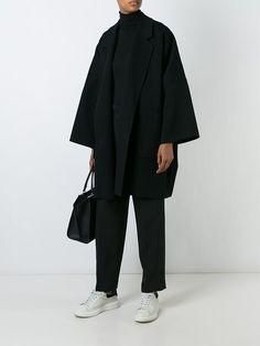 Helmut Lang Oversized Coat - Stefania Mode - Farfetch.com