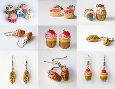 cute jewelry | ... of cupcakes on flickr when i found these cute handmade jewelry made