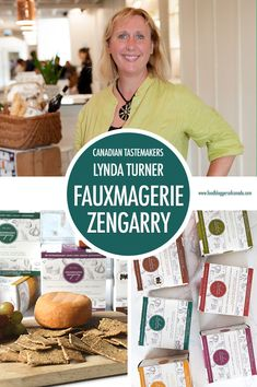 Canadian Tastemaker Lynda Turner of Fauxmagerie Zengarry | Food Bloggers of Canada  Meet Lynda Turner, founder of Fauxmagerie Zengarry. Her delicious cashew cheeses are satisfying the cravings of plant based eaters across the country.  #plantbasedcheese #Canadianfood #cashewcheese #foodbloggersofcanada
