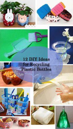 12 DIY ideas for recycling plastic bottles / DIY...