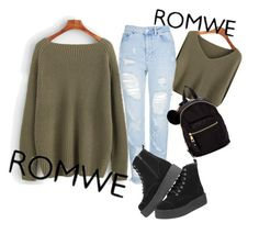 """""""Untitled #63"""" by amela83 ❤ liked on Polyvore featuring Topshop and Madden Girl"""