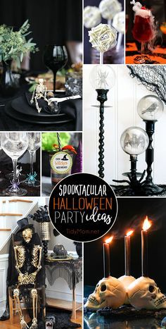 Armed with a few Spooktacular Halloween party ideas you can host a bash they won't forget. Spooky DIY decor to ghoulish treats are hauntingly easy to make! Halloween Dessert Table, Easy Halloween Food, Halloween Party Themes, Halloween Home Decor, Halloween Kostüm, Holidays Halloween, Halloween Decorations, Halloween Goodies, Halloween Cupcakes