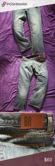 Banana Republic Limited Edition Jeans Brand New, Never been worn besides to try on! Tags were removed to wear but didn't fit and lost receipt. They are Men's size 34/30, Straight Leg. Banana Republic Jeans Straight