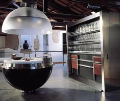 Sheer-Sphere Kitchen looks cool, but maybe a bit to sci-fi even for me?