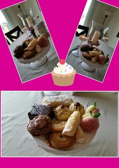 Choc chip cookies, Brownies with cream cheese, Hazelnut cupcake, Log with creamy cheese hazelnut, Puff pastry with vanilla cream & Peachy creamy cookies---sooo ready to open AGAIN my own bakeshop!