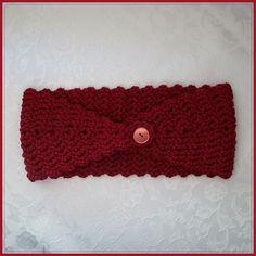 Ravelry: Valentine Romance Headband pattern by Tina Rodriguez