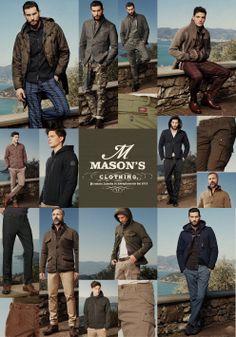 Mason's man adv carboard