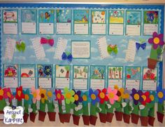 Life cycle of plants foldable booklets and butterfly haiku. A bulletin board from our end of year life cycle garden open house. Spring Activities, Science Activities, Classroom Activities, Classroom Ideas, Science Writing, Science Ideas, Science Fun, Science Lessons, Future Classroom
