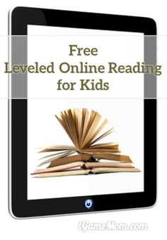 A free leveled reading website for kids. Users can search articles and books by grade level, skill sets, reading level, key words, … Reading materials ranges from articles to novels, and covers wide range of topics, sports, news, … A wonderful literacy resource for school, homeschool, or reading practice at home. | education resource for kids from kindergarten to high school