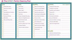 NETTOYAGE : Iheart Orginizing propose une méthode pour créer une routine de nettoyage perso.
