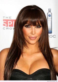 #Kim Kardashian lovely haircut