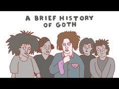An Animated History of Goth Culture