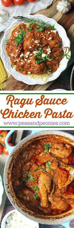 pasta al ragu recipe for chicken
