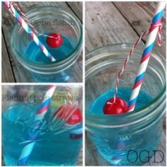 Cute fishing pole straws by (this is a keeper for Scoot) Blue Candy Apples, Water Party, Nautical Party, Little Girl Birthday, 1st Birthday Parties, Birthday Ideas, Paper Straws, Party Items, Childrens Party