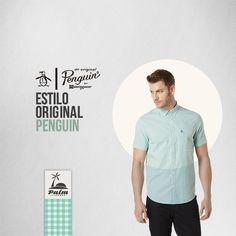 ¿Qué te parece esta camisa? ¡Genia para que te luzcas! Managa larga Original Penguin descuento 15%  U$46,75 Precio neto.  *Envío gratis a todos los departamentos.