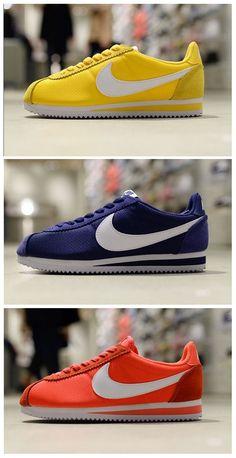 Nike Cortez Angezogen
