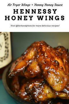 Honey Chicken Wings, Honey Bbq Wings, Sauce For Chicken Wings, Honey Sauce For Chicken, Sticky Chicken Wings, Hot Wing Sauces, Chicken Wing Sauces, Recipes For Chicken Wings, Sweet Chicken Wings Recipe